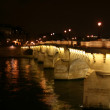 Pont Neuf at night — Stock Photo