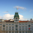 Trieste city hall — Stock Photo
