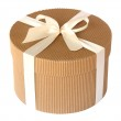 Round gift box — Stock Photo #2475900