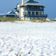 House on the beach — Stock Photo
