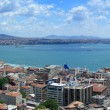 Bosphorus panoramic view — Stock Photo