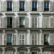 Stock Photo: Building facade in Paris