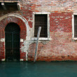 Venetian door and windows — Foto de Stock