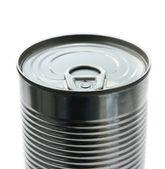 ブリキ缶の上揃え — ストック写真