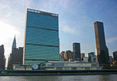 UN Headquarters, Manhattan, New York — Zdjęcie stockowe