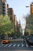 5th avenue from Washington square — Stock Photo