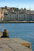 Couple in Trieste — Stock Photo