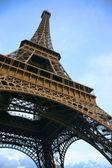 Eiffel tower from below — Stock Photo