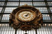 Relógio no Museu de orsay — Fotografia Stock