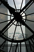 Sacre Coeur seen from Orsay museum — Stock Photo