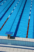 Pool lane six — Stock Photo