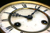 Antique clock face detail — Stock Photo