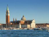 Boats in Venice laguna — Stock Photo