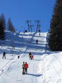 Double skilift — Stock Photo