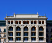 Neoclassical facade — Stock Photo