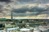 Paris roof tops view — Stock Photo