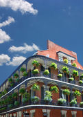 New orleans-architektur — Stockfoto