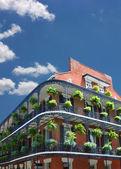 новоорлеанская архитектура — Стоковое фото