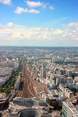 Montparnasse station luchtfoto — Stockfoto