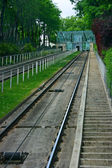 Montmartre funicular — Stock Photo
