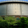 Gashouder building back - Foto de Stock