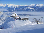 Ski resort topp — Stockfoto