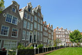 Begijnhof facades — Stock Photo