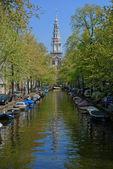 Zuiderkerk clock tower — Stock Photo