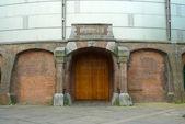 Gashouder entrance — Stock Photo