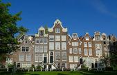 Begijnhof facades — Stock Photo