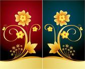 Elegant blommig bakgrund — Stockvektor