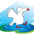 goose — Stock Vector