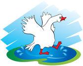 Goose — Stock Vector