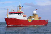 Antarctic Expeditionary Vessel — Stock Photo