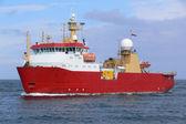 Antarctic Expeditionary Vessel — Stock Photo