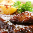 Baby Back Ribs - Stock Photo