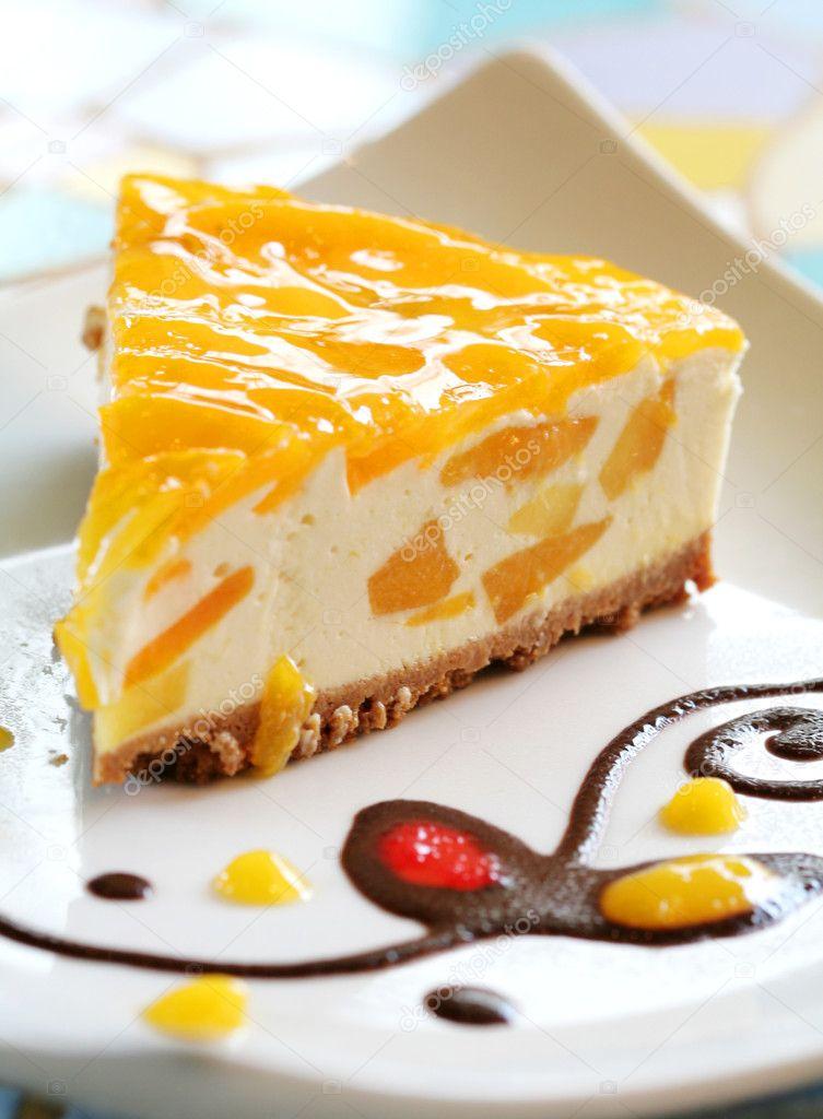 Манговый торт рецепт с фото без выпечки