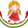 Royalty-Free Stock Imagen vectorial: Watermelon