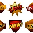 Royalty-Free Stock Vector Image: Badges and Labels Set