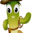 Royalty-Free Stock Vector Image: Cactus Cowboy