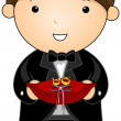 Stock Vector: Ring Bearer