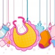 Baby Objects — Stock Vector #2440726