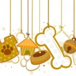 Pet Objects - Stock Vector