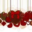 Royalty-Free Stock Vector Image: Valentine Hearts