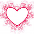 Royalty-Free Stock Vector Image: Heart Frame