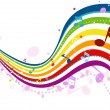 Royalty-Free Stock Vector Image: Music Wave