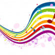 Music Wave — Stock Vector