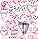Heart Doodles — Stock Vector #2576323