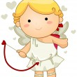 Cupid — Stock Vector