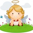 Royalty-Free Stock Vector Image: Angel